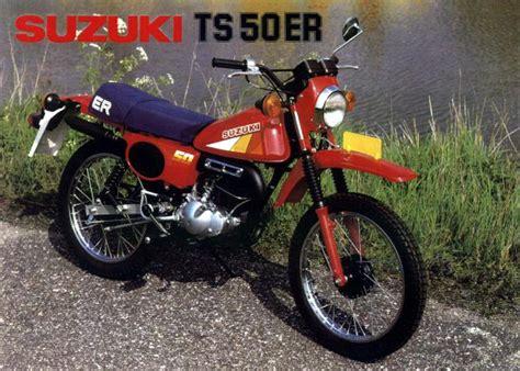 Ts 50 Suzuki Suzuki Ts50 Brochures Adverts