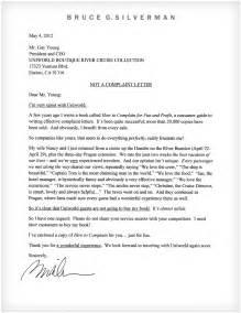 Complaint Letter Doc 971873 Sle Complaint Letter Bizdoska