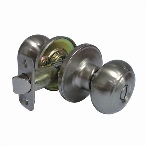 faultless fancy satin nickel privacy knob
