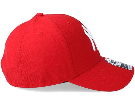 classic red new york yankees mvp classic red adjustable 47 brand