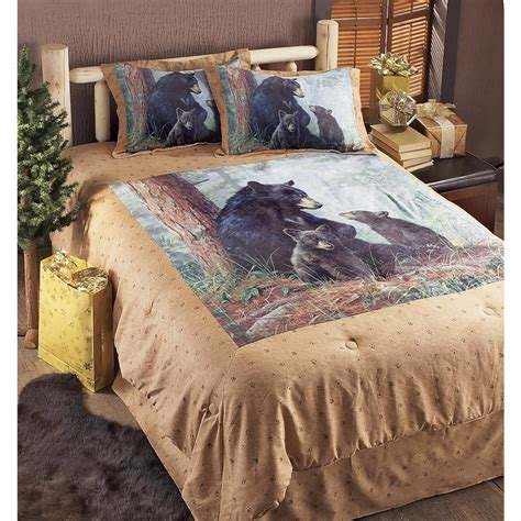 bears comforter set hautman 174 bear family comforter set 99560 comforters at