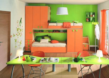 orange and green bedroom green paint colors cheerful ideas for painting kids rooms