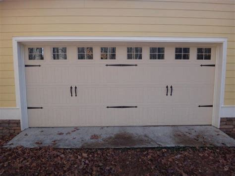 Garage Door Faux Hardware by Best Types Garage Door Decorative Hardware