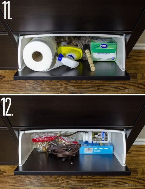 Shoe Drawers Hemnes Collection Add Kitchen Storage In A Small Space