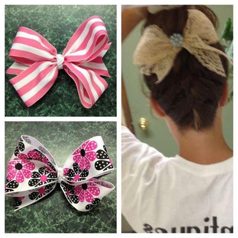 How To Make Handmade Hair Bows - handmade hair bows kraftykinzee