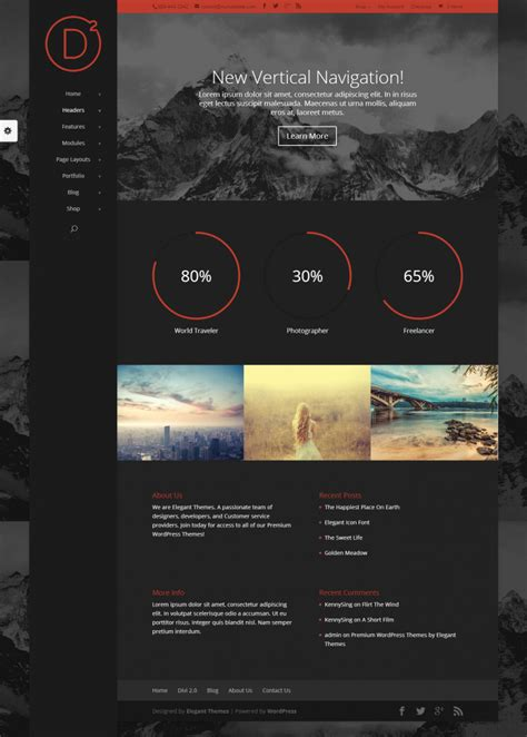 divi themes divi theme on inspirationde