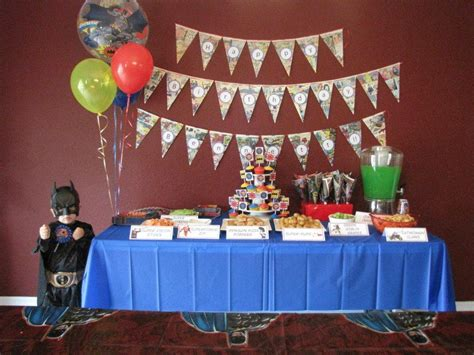 party themes reddit kid has best superhero themed birthday party ever 9 pics