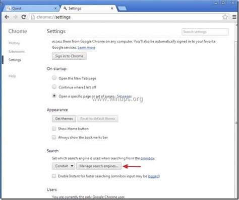 chrome search how to remove yontoo toolbar adware wintips org