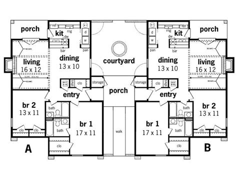 multi family house plans duplex 25 best ideas about duplex house plans on pinterest house floor plans 2 generation