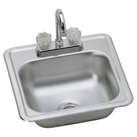 Dayton Bar Sink by Elkay Kp211515c Dayton Single Bowl Top Mount Stainless