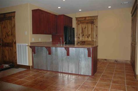 Hgtv Kitchen Backsplash by Corrugated Metal On Kitchen Island House Pinterest