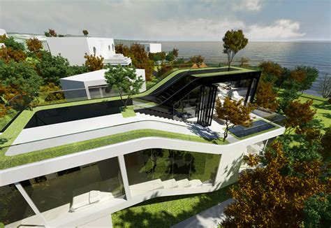 Cocoon Home Design Vancouver Planning Korea Jeju Cocoon House