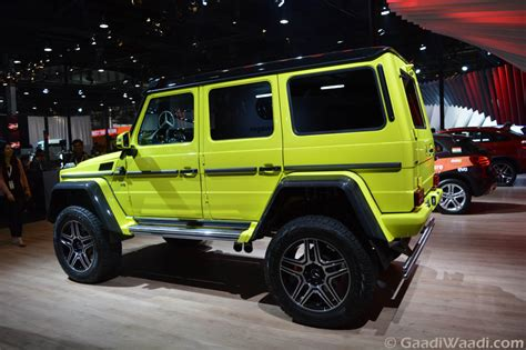 Mercedes G500 4x4 Price by Mercedes G500 4x4 Concept Unveiled At 2016 Auto Expo