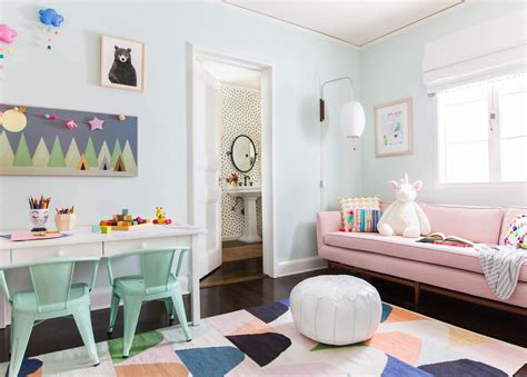 let s play with cute room ideas midcityeast a playful and bright playroom reveal emily henderson