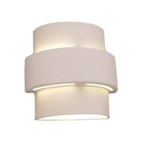 Ceramic Wall Sconce Filament Design Daniel Paintable Bisque Ceramic Outdoor Wall Sconce Cli Edg803909 The Home Depot