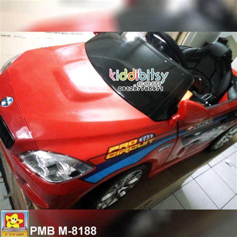 Mobil Anak Pmb M9188 jual pmb m9188 bmw racing edition mainan mobil aki kiddibitsy