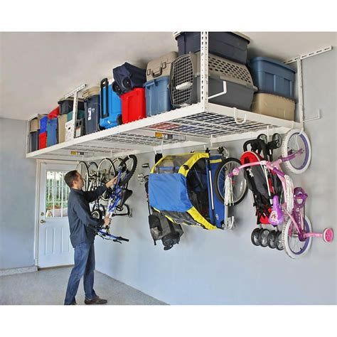 overhead garage door storage best 20 overhead garage storage ideas on