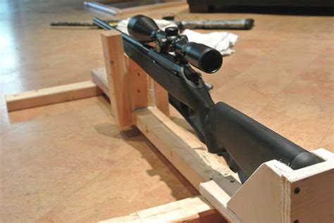diy bench rest for target shooting diy shooting rest