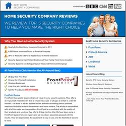 home security companies review site completes reevaluation