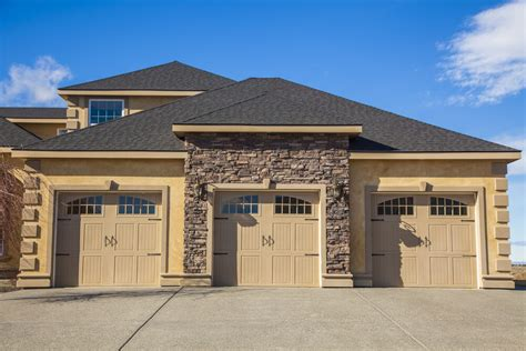 Spanish Ranch House Plans 60 Residential Garage Door Designs Pictures