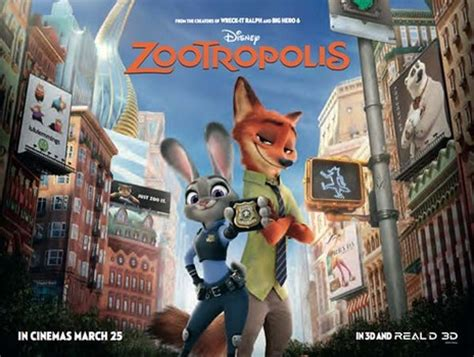 film disney zootropolis empire cinemas film synopsis zootropolis