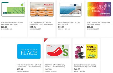 Gift Card Resale Sites - ebay save on bp cvs krispy kreme more doctor of credit