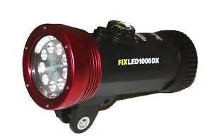 illuminatore subacqueo acquasub illuminatore sea sea subacqueo fix led 1000 dx