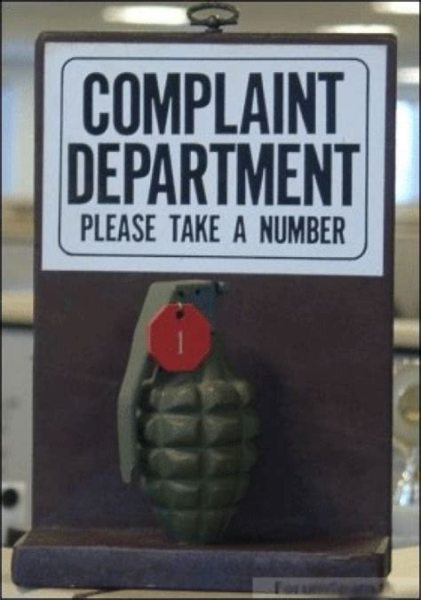 Complaint Department by Quotes About Complainers Quotesgram