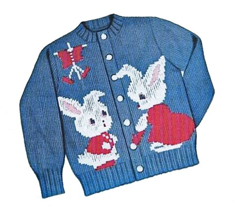 patterns knitted childrens sweaters peter rabbit sweater pattern knit o graf 203 cardigan