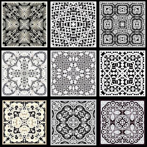 Block Folding Black White black and white tiles 2017 grasscloth wallpaper
