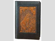 Refillable Leather Icon Journal | Wolf | Oberon Design Journaling Cards Downloads