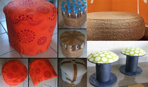 tutorial diseño blogger 3 pufs con objetos reciclados 194 161 creatividad y dise 195 177 o on