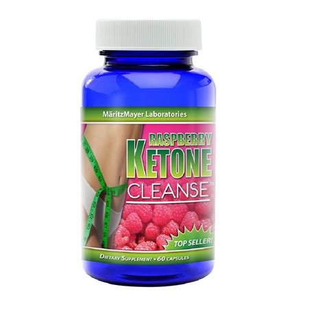 Detox Cleanse Vitamins by Raspberry Ketone Cleanse 1600mg Maximum Colon Detox Weight