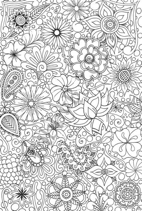 doodle flower flower doodles by tabbystangledart on etsy https www