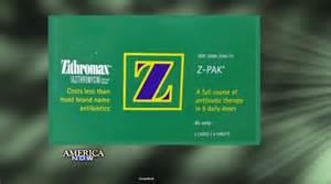 z pack side effects