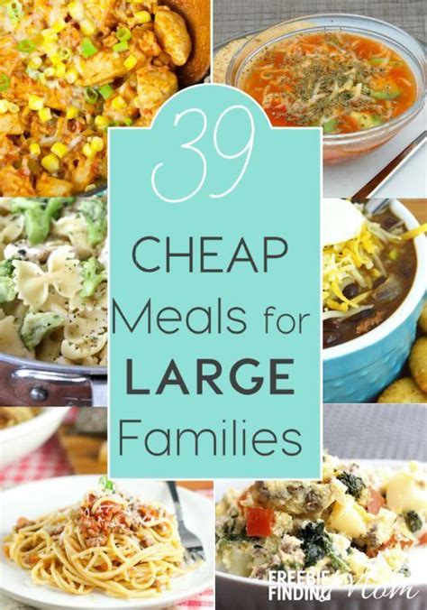 10 Ideas To Do A Food Budget by 17 Best Ideas About Budget Family Meals On
