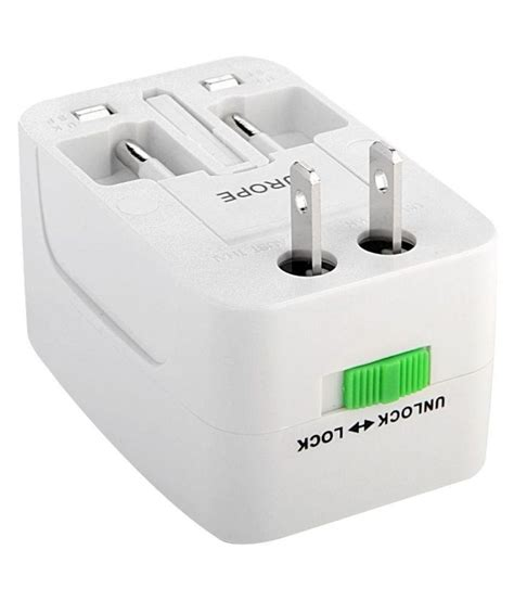 Universal Travel Changing Adapter As 24 Hour Non Stop Inovera Universal Travel Power Adapter White Buy