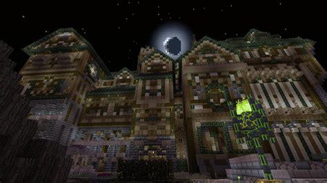 Minecraft Haunted House by Minecraft Xbox Herobrine Attacks Herobrine S Haunted Mansion