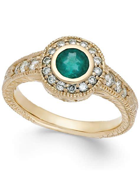 macy s emerald 1 2 ct t w and 1 3 ct t w