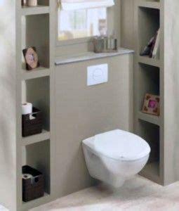habillage wc suspendu penser aux niches de rangement pour