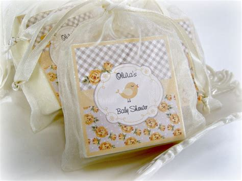 Shabby Chic Baby Shower Favors Baby Shower Favors Yellow And Shabby Chic Favors