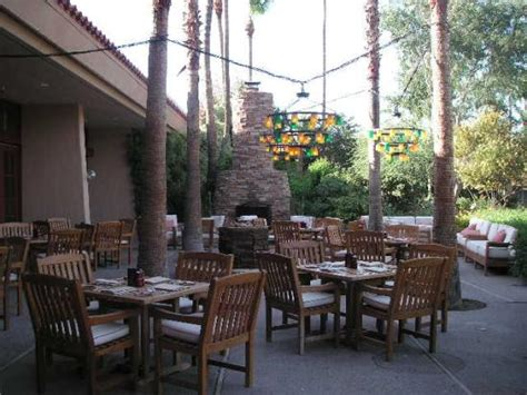 Patio Dining Scottsdale by Outdoor Dining Picture Of The Resort Spa