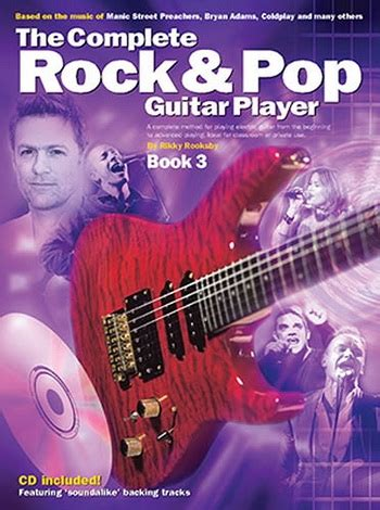 rock the luckiest in pop books complete rock and pop guitar player book 3