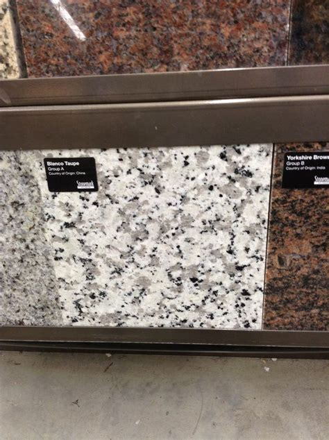blanco taupe granite kitchen redo pinterest