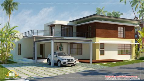 contemporary home designs modern contemporary home elevations kerala home design