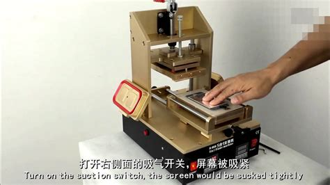 mulitfunction lcd repair machine glue remover lcd separator machine  iphone samsung