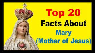 biography about mary the mother of jesus mary mother of jesus facts youtube