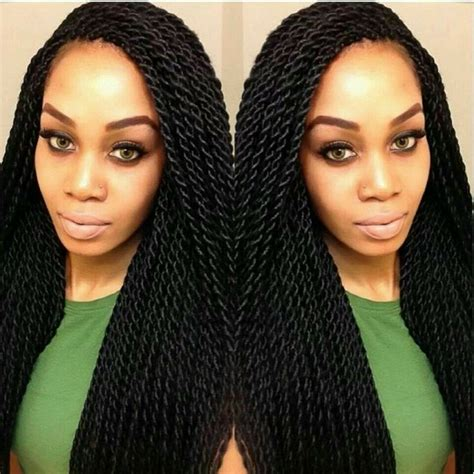 Weave Twists Hairstyles by 15 Senegalese Twists Styles You Can Use For Inspiration