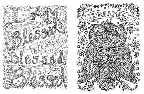 Inspirational Coloring Pages To Download And Print For Free Inspirational Coloring Pages For Adults