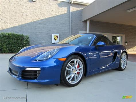 2013 Aqua Blue Metallic Porsche Boxster S 67340913 Photo